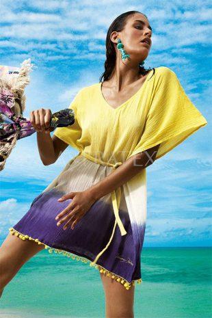Plážové šaty k nošení přes plavky