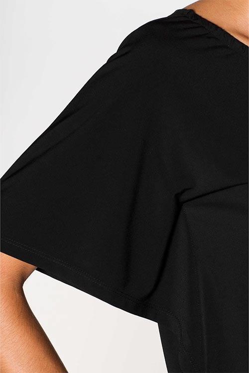 Pohodlná tunika s krátkým rukávem