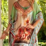 Luxusní vzdušné plážové šaty s ručně zpracovanými detaily