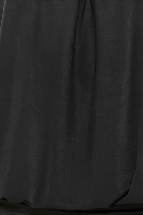 Černá společenská tunika