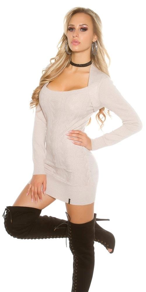 Zimní svetrová tunika