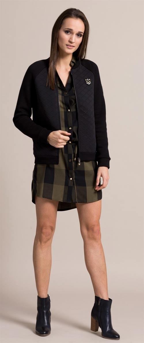 Vojenská dámská tunika na knoflíčky
