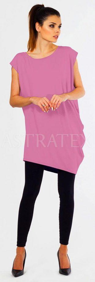 Letní dámská těhotenská tunika Melisa z lehkého materiálu
