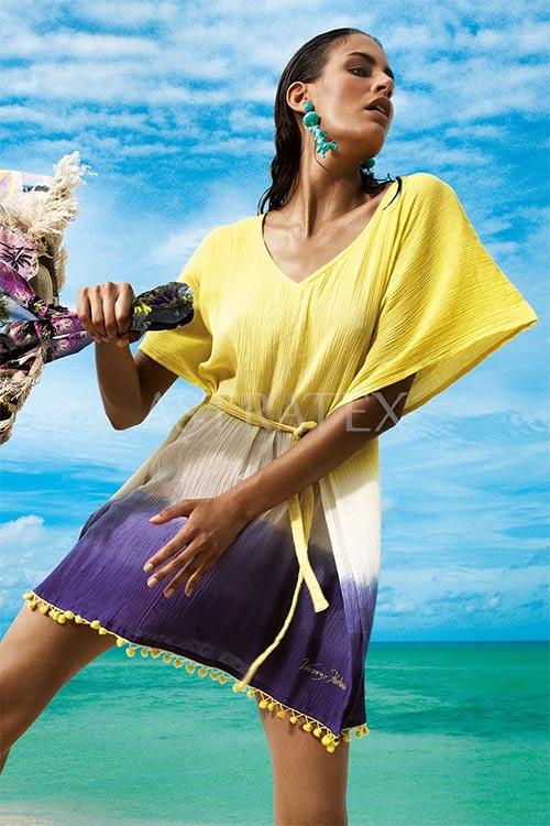 e14640297543 Plážové šaty k nošení přes plavky
