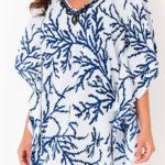 Italské bavlněné plážové šaty