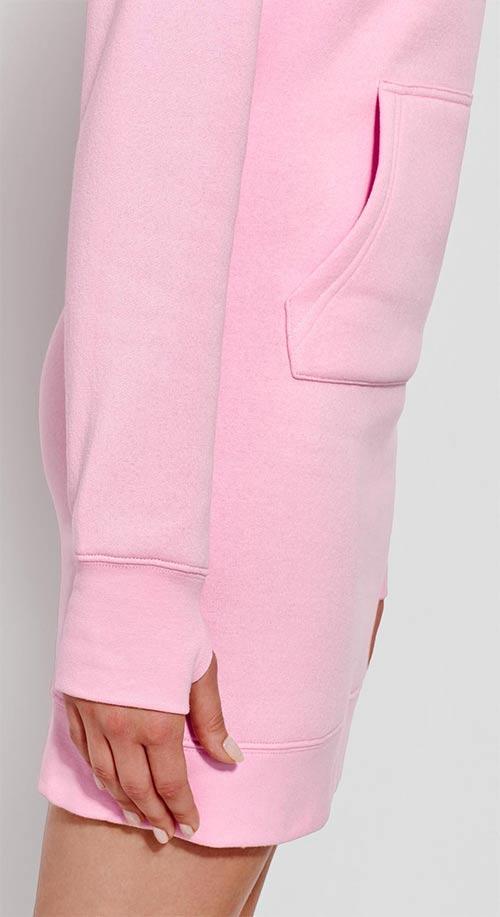 Růžová sportovní tunika
