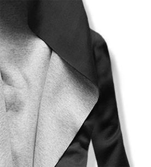 Mikinová tunika s kapucí