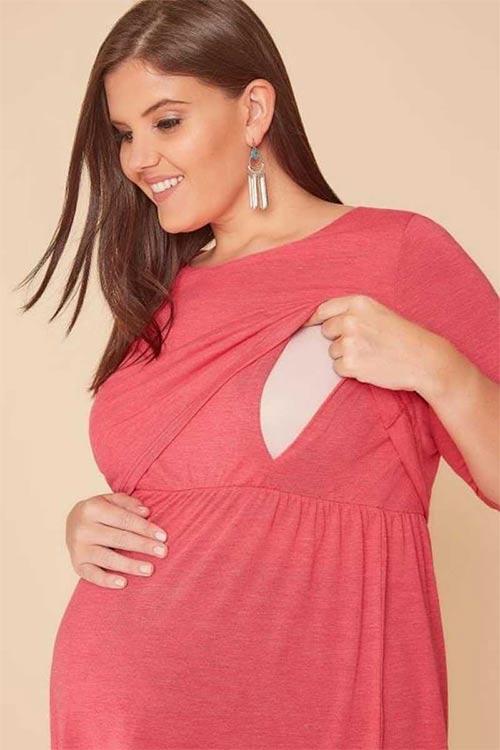 Tunika s otvorem pro kojení