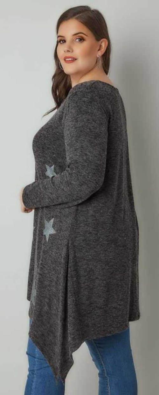 Zimní těhotenská tunika