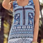 Dámské italské letní šaty David Beachwear Gujarat