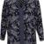 Květovaná tunika s průsvitnou krajkou na zádech