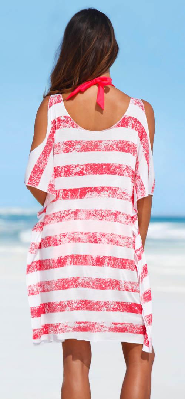 Dlouhé tričko přes plavky