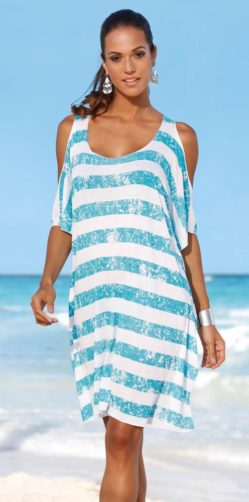 Plážové tričko přes plavky