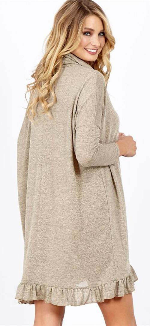 Zimní těhotenské šaty