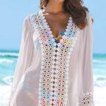 Košilová plážová tunika