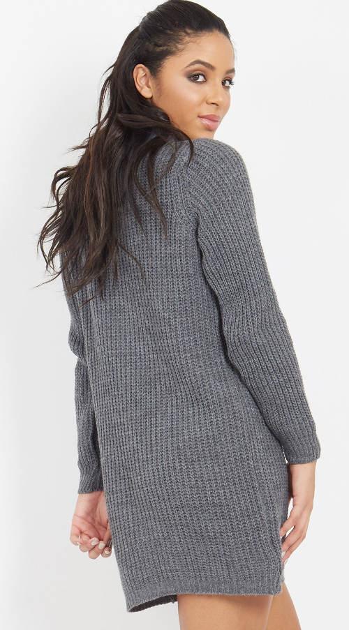 Zimní pletená tunika