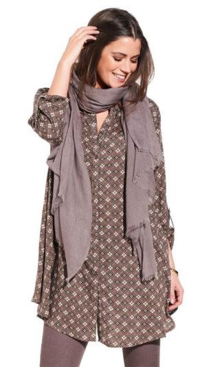 Košilová dámská zimní tunika