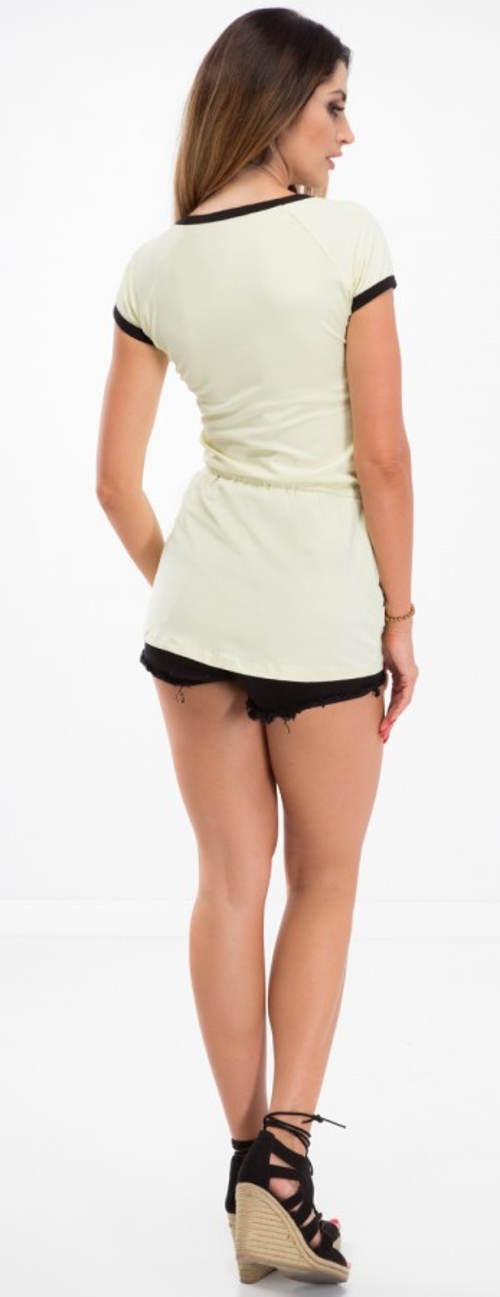 Krátká sexy tričková tunika