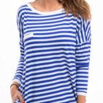 Námořnické letní šaty - tunika s kapsami