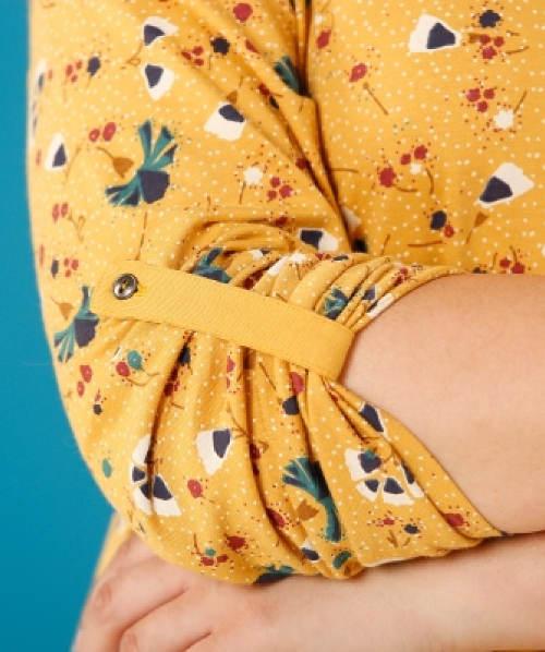 Dlouhé rukávy s knoflíkovou patkou