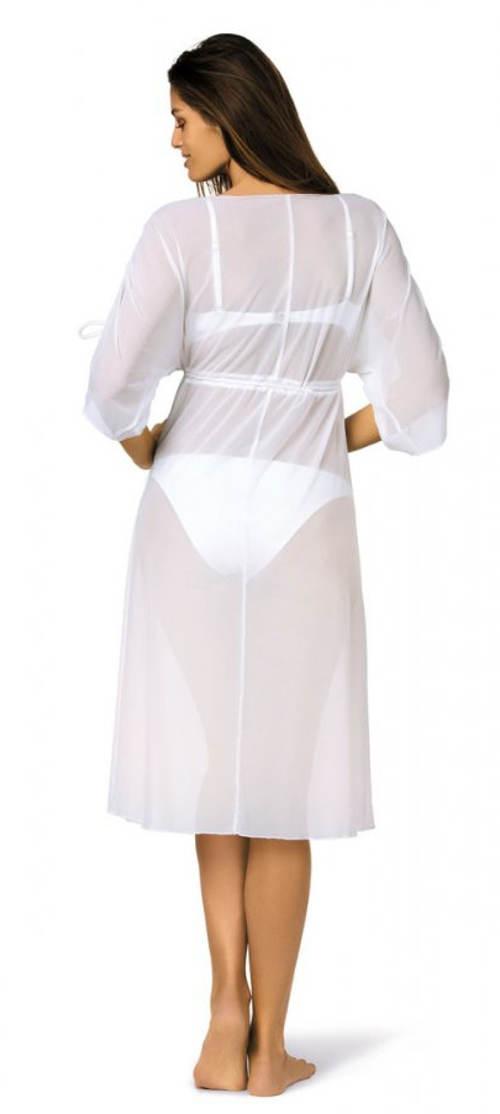 Lehounké midi plážové šaty