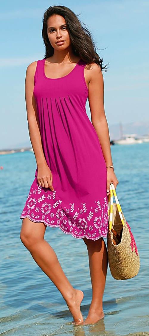 Letní bavlněné šaty k moři