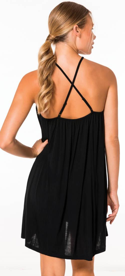 Letní šaty se sportovními zády