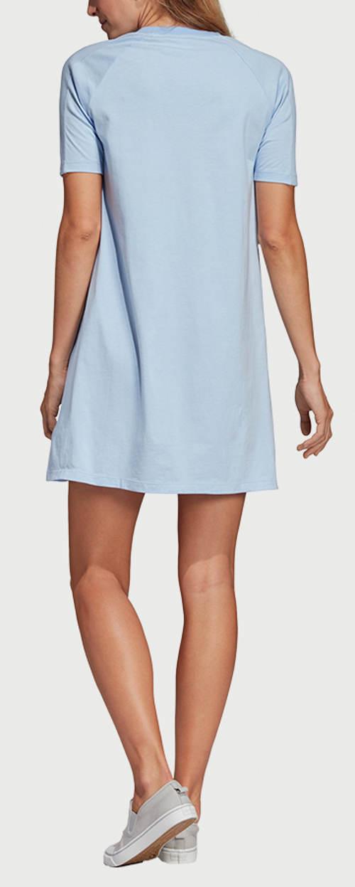 Světle modré letní šaty Adidas