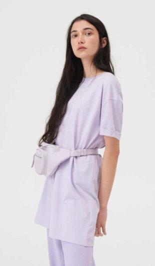Tunika v tričkovém střihu z kvalitního bavlněného materiálu
