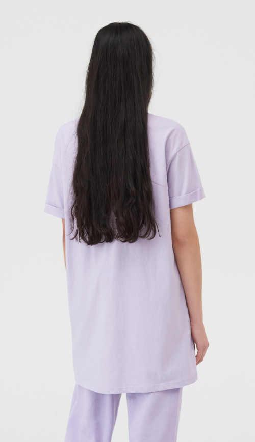 bavlněná tričková dámská tunika