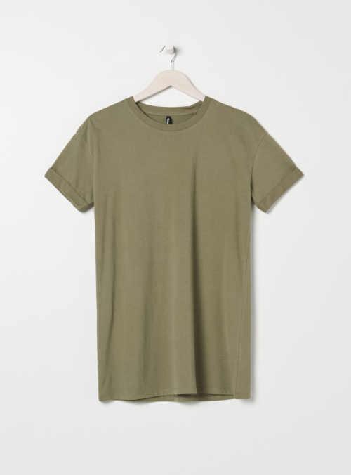 bavlněná tunika tričkový střih