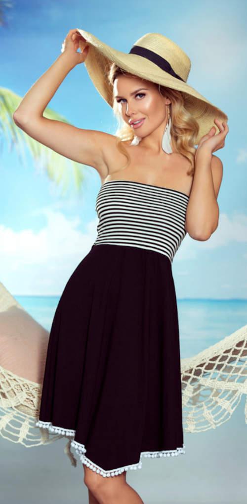 Dámské letní tunikové šaty SANDY bez ramínek
