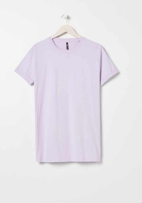 tunika tričkový střih krátký rukáv